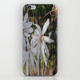 waving flowerheads iPhone Skin