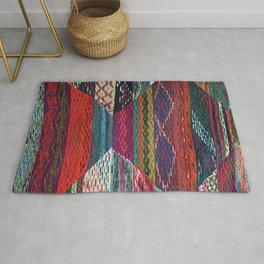 ARTERESTING V45 - Boho Traditional Moroccan Colored Design Rug