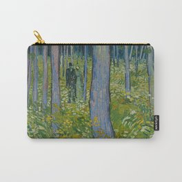 Undergrowth with Two Figures Carry-All Pouch