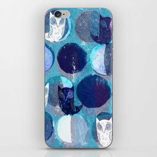 sounds of the night iPhone & iPod Skin