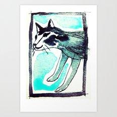 SAKE. Art Print