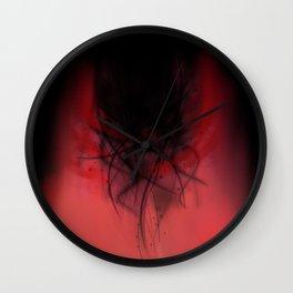 Heart of madness Wall Clock