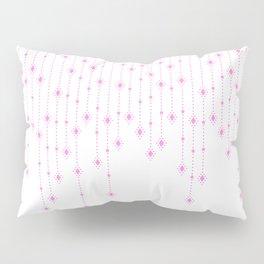 Pink Diamonds Pillow Sham