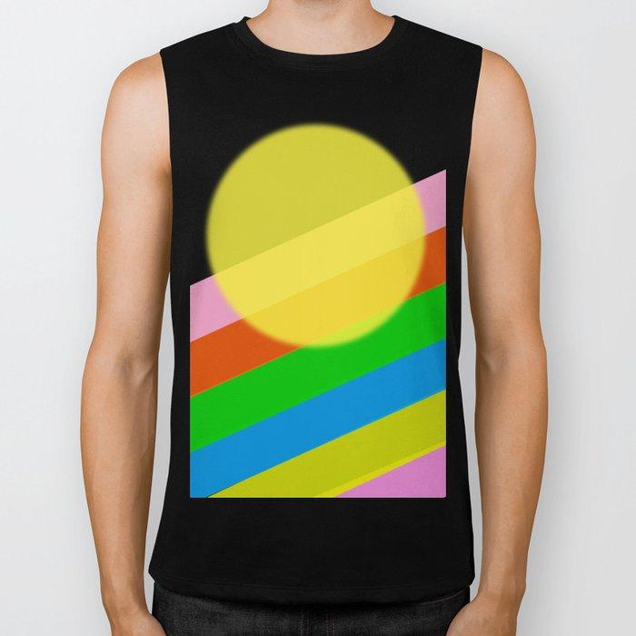 Sunshine and Rainbows Biker Tank