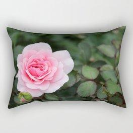 Soft Pink Rose off set Rectangular Pillow