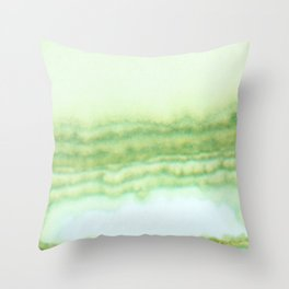 Sage Swell Throw Pillow