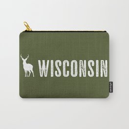 Deer: Wisconsin Carry-All Pouch