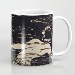 Mermaid illustration from The Craftsman - 1906-1907 Coffee Mug