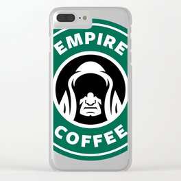 Empire Coffee Clear iPhone Case