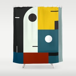 BAUHAUS AGE Shower Curtain