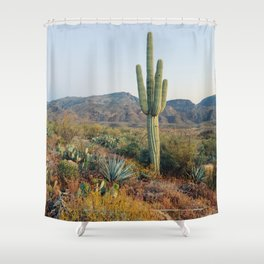 Spring in the Desert Shower Curtain
