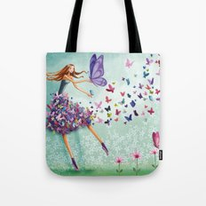 butterflydance Tote Bag