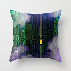Atlante 21-06-16 / YELLOW WINDOW Throw Pillow