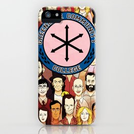 Greendale Human Beings iPhone Case