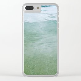 green 102 Clear iPhone Case