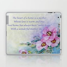 Mothers Day - Sweet Home Laptop & iPad Skin