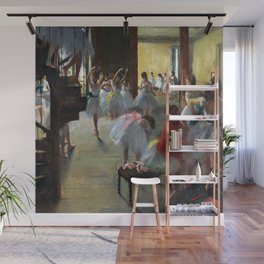 Edgar Degas The Dance Class Wall Mural