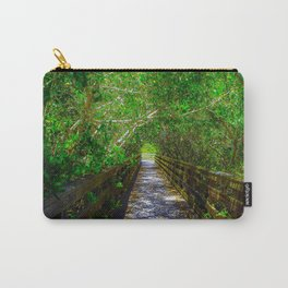 Path under the Tree Canopy Carry-All Pouch