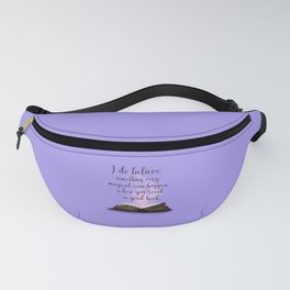 Reading Is Magical, Quote Fanny Pack