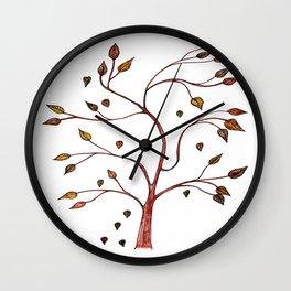 Whimsy Tree Wall Clock