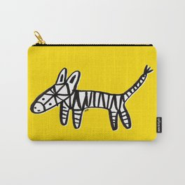 Z is for Zebra Carry-All Pouch