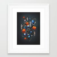 geo Framed Art Prints featuring Geo by Tomas Brechler