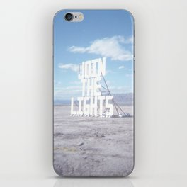 Join the Lights iPhone Skin