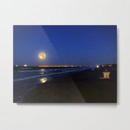 Christmas Day Full Moon California 2015 Metal Print