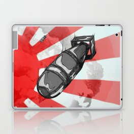 Atom Bomb Fat Boy Laptop & iPad Skin