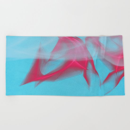 flame Beach Towel