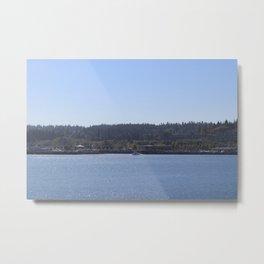 Port of Edmonds, WA Metal Print