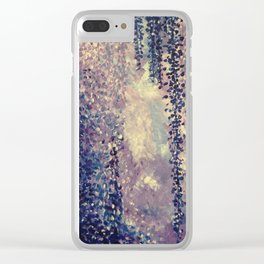 Hanging Flowers Clear iPhone Case