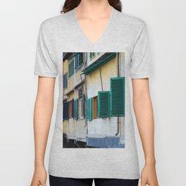 Ponte Vecchio Unisex V-Neck