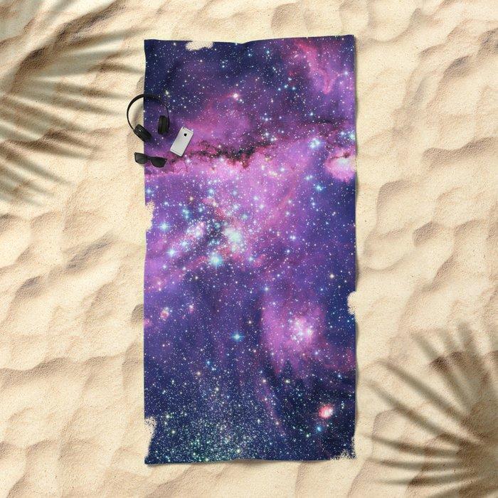Small Magellanic Cloud Beach Towel