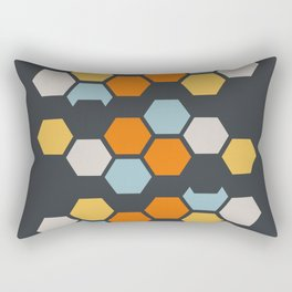 Sam (Gray Blue) Rectangular Pillow