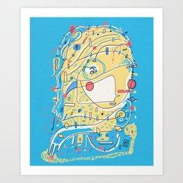 Discreet Compliment Art Print