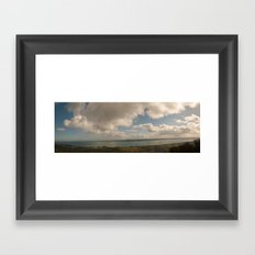 Belfast Lough Panorama Framed Art Print