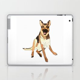 German Shepherd Laptop & iPad Skin