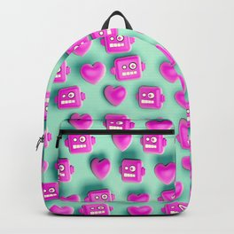 Love Robots and some more stuff Backpack