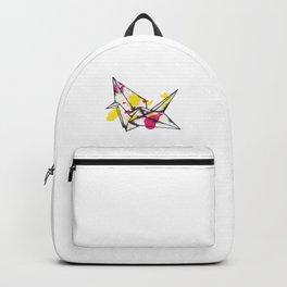 Origami Crane Explosion Backpack