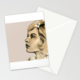 Portrait of her Stationery Cards
