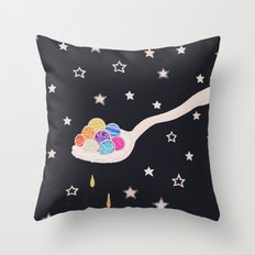 Spoonful Of Wonders Throw Pillow