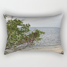 They Met at the Peace River Rectangular Pillow