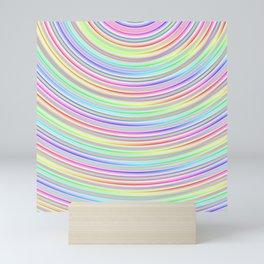Trippy Rainbow Mini Art Print