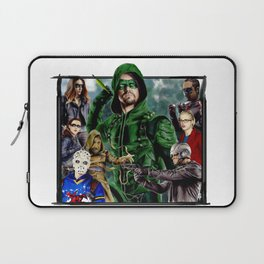 Team ARROW - season 4(Green Arrow,Felicity Smoak,Spartan,OTA) Laptop Sleeve