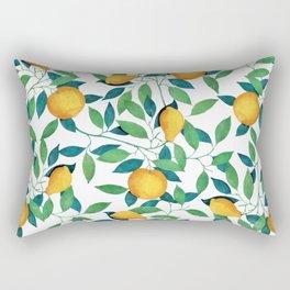 Lemon pattern II Rectangular Pillow