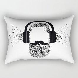 Beard the Music Rectangular Pillow