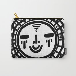 Happy People: Face 1 Carry-All Pouch