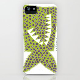 LAPIRAÑA verde iPhone Case