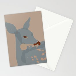Grey Deer Stationery Cards